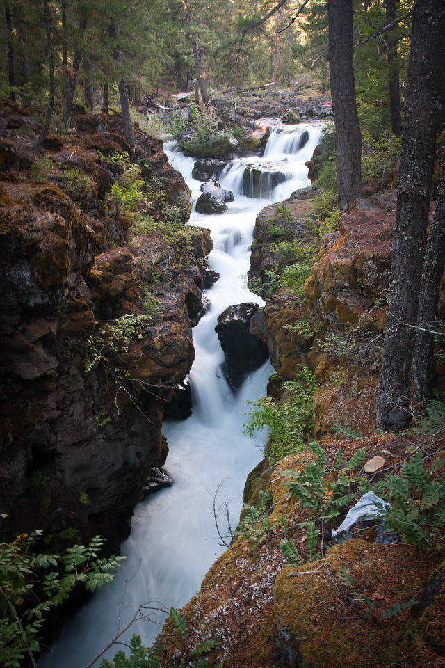 Waterfall on the Rogue River