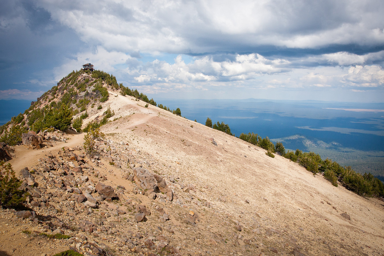 Top of Mount Scott in Crater Lake National Park