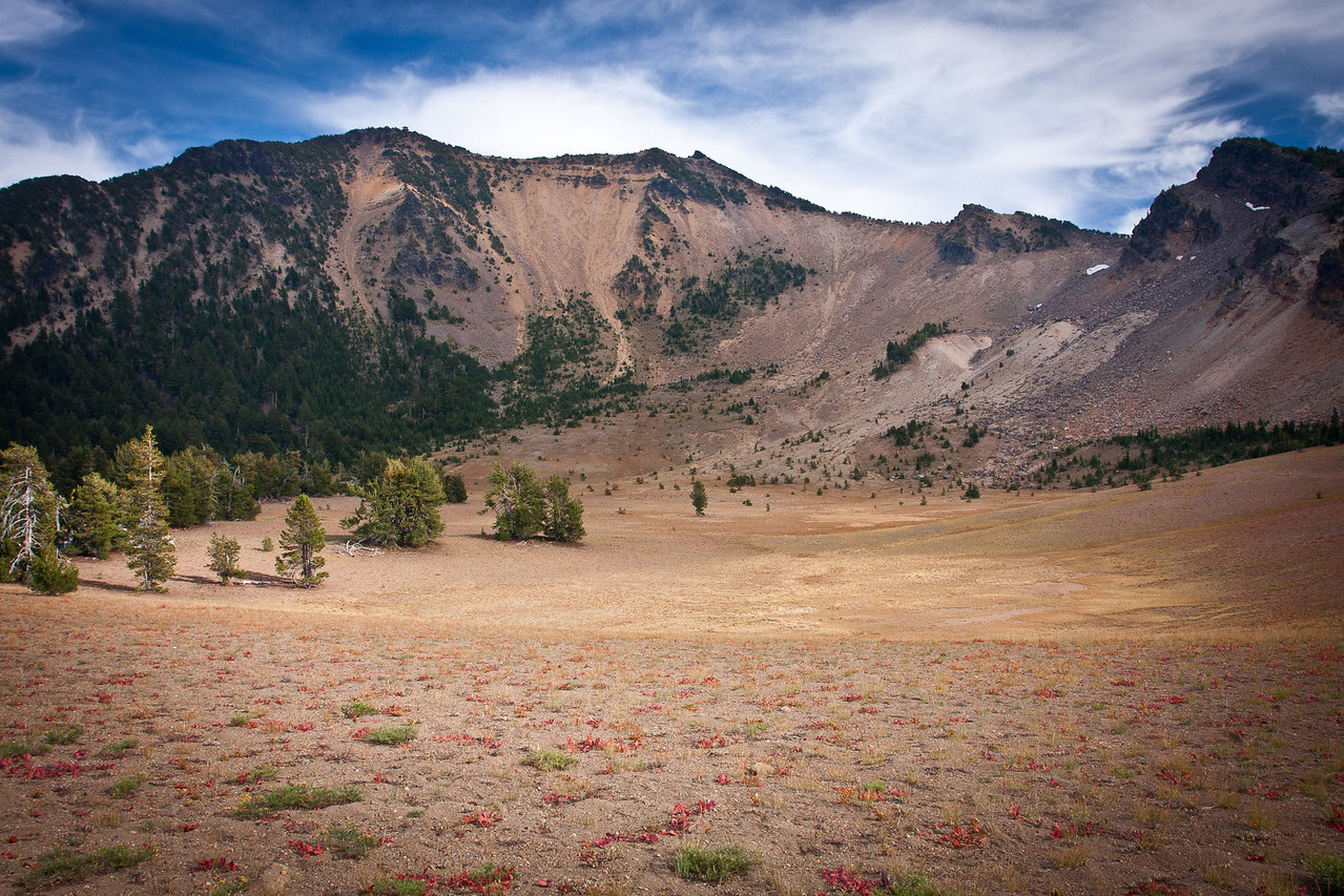 Mount Scott, the highest peak in Crater Lake National Park (8938 ft)