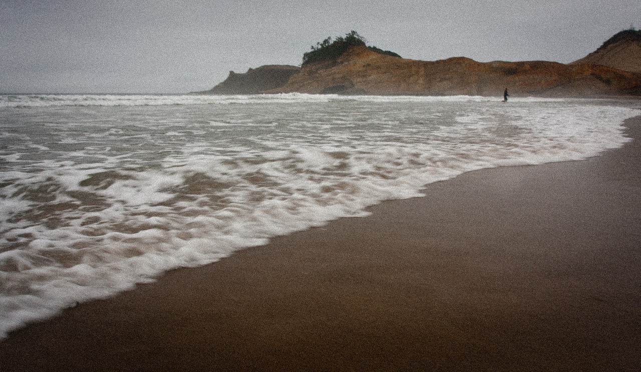 Pacific City on the Oregon Coast