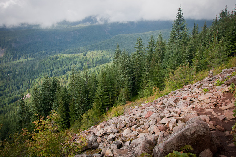 Hiking in the Mount Hood Wilderness