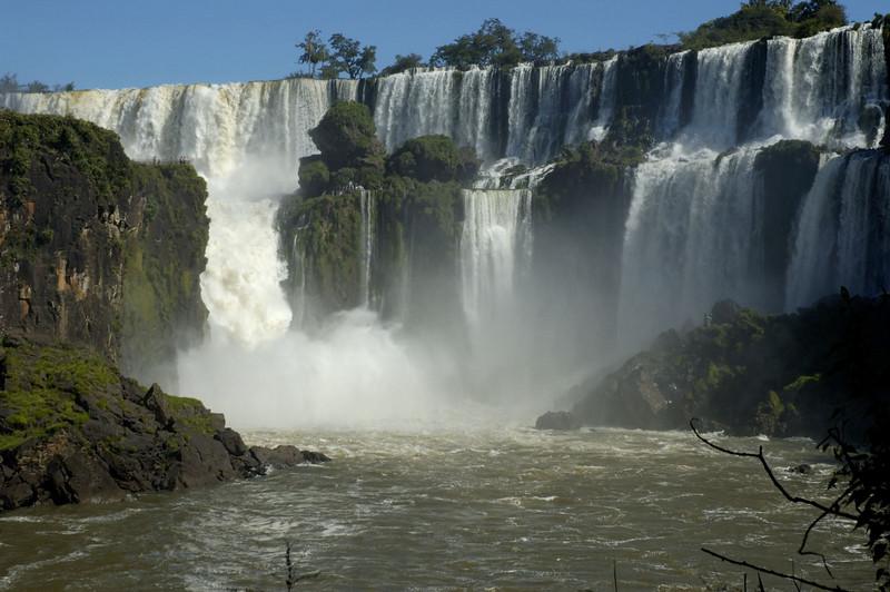 Iguazu Falls, the Steps
