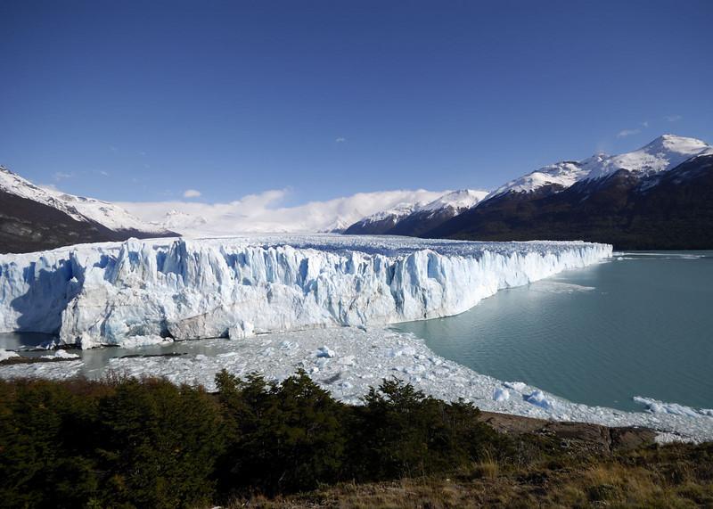 The main front, Glacier Moreno
