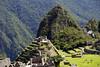 Machu Picchu, looking at Intihuatana