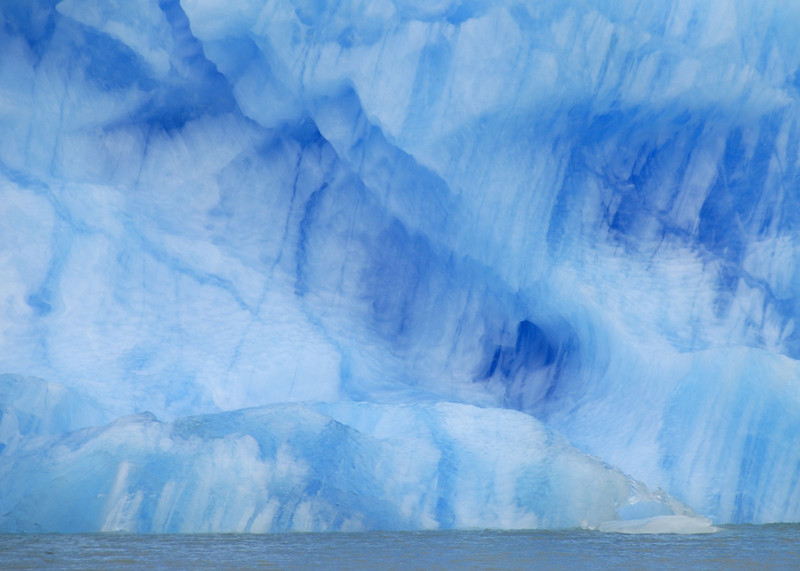 Iceberg the blueness, in Brazo Upsala, Lago Argentino