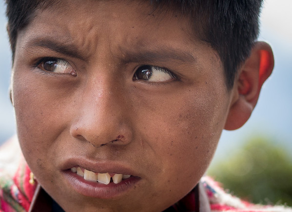 Campesinos of the Cordillera Urupampa - PERU
