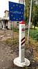 OAT Trip/Poland-Lithuania-Latvia-Estonia-Russia/13 Sep-02 Oct 2016.  We cross the unmonitored border from Lithuania into Latvia.