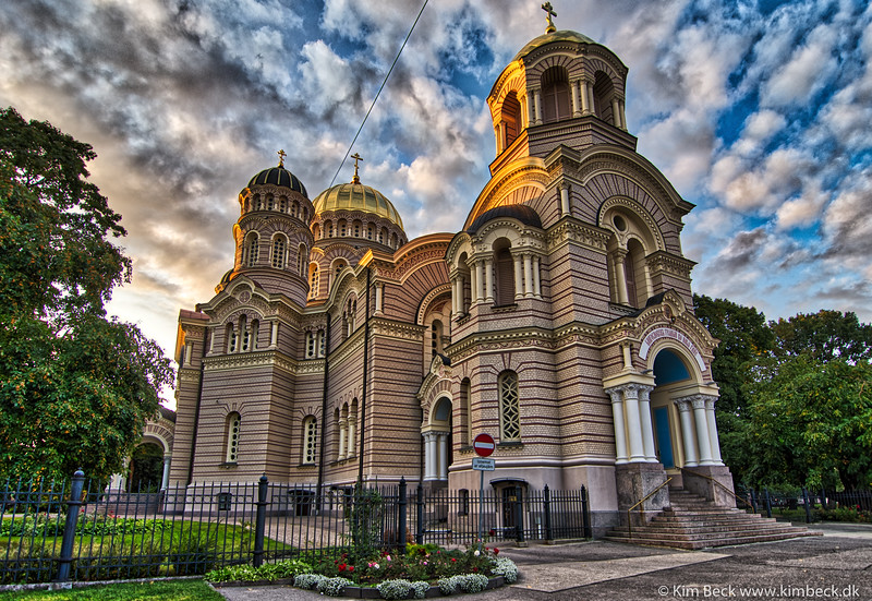 #HDR #Russian #orthodox #church in #Riga. 5 exposures combined. #handheldHDR. #NikonD500