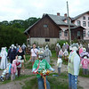 Crazy dolls in the Latvian countryside