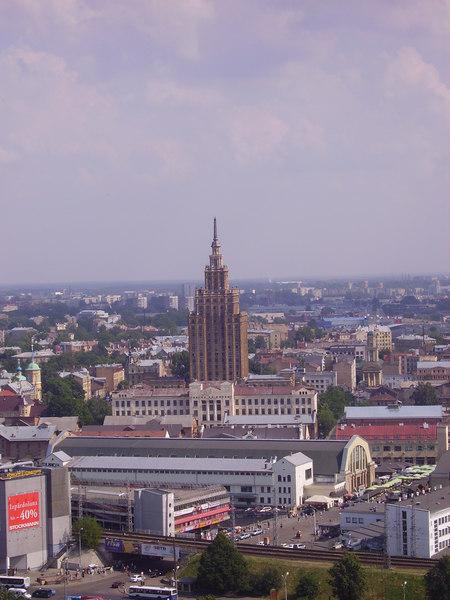 Riga Stalinist building