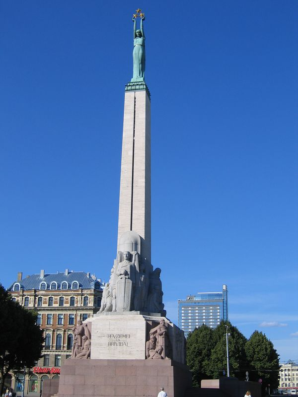 The Freedom Monument.