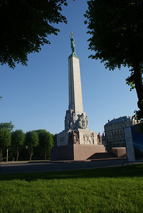 Supposedly the most important monument for Latvians, Freedom Monument honors soldiers killed.  It's a fantastic monument.