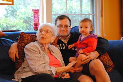 Lauren's family weekend in Boston (Sept 2013)