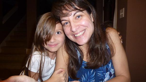 Ashley (niece) and Aunt Diane.