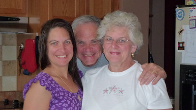 Deb, Dad and Mom