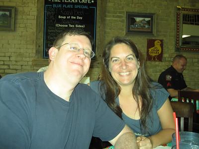 Jim and Deb and the Texan Cafe.