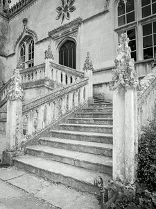 Laycock House stairway to the main hall
