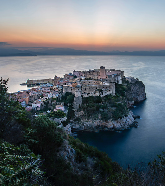 The medieval part of Gaeta, a beautiful city in southern Lazio, 2 hours from Rome. This city has it all: sandy beaches with crystal clear waters, history and mountains all around