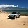 I rented a Jeep for two days, with air conditioning and NPR.