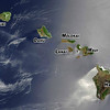 Hawaii's sixth largest island (141 square miles), shown in satellite photo (Pinnacle).