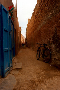 Narrow street. Tiznit Morocco