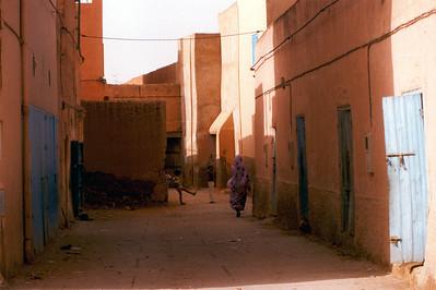 Street. Tiznit Morocco.