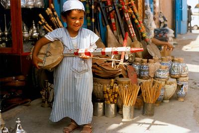 """Saad's """"berbere violin"""" Tiznit, Morocco"""