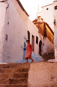 The little girl. Chaouene Morocco
