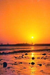 Sunset. Agadir Morocco