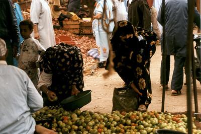 Souk (market). Tiznit Morocco.