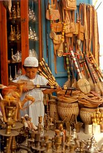 """Saad's """"guenbri"""" Tiznit, Morocco."""