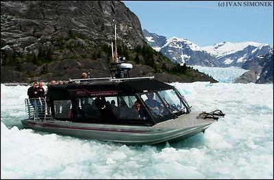 """ICE JAM"",LeConte Bay,Alaska,USA."