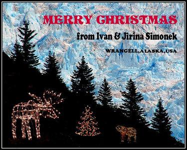 """WILDERNESS CHRISTMAS"", LeConte glacier, Alaska, USA----- ""VANOCE V DIVOCINE""."