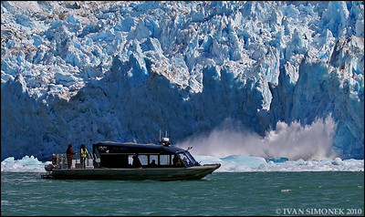 """A CLOSE VIEW"",Alaska Waters Chutine Warrior,LeConte glacier,Alaska,USA."