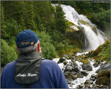 "THUNDER FALLS 3"", LeConte Bay, Alaska, USA."