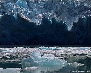 """THE EVENT 8"",after massive calving,LeConte glacier,Alaska,USA."