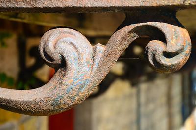 Cast Iron Architectural Details