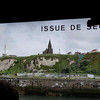 There was no escape from the guns on the cliffs at Dieppe.