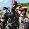 French paratroopers.