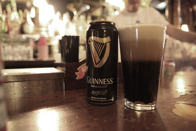 Pre race Guiness.