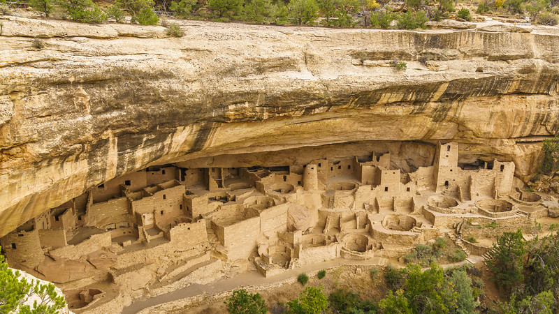 """The """"Cliff Palace"""" - Mesa Verde National Park"""
