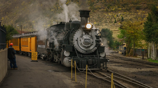 Durango-Silverton Narrow Gauge Railroad Locomotive
