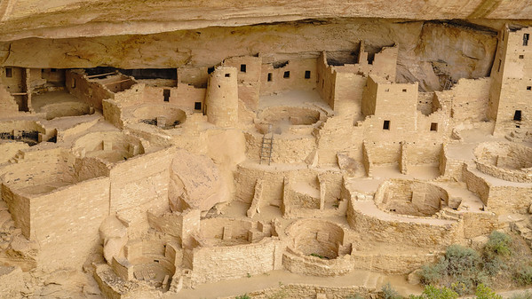 "The ""Cliff Palace"" - Mesa Verde National Park"