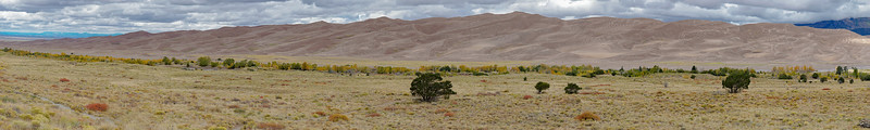 Great Sand Dunes National Park - Panorama