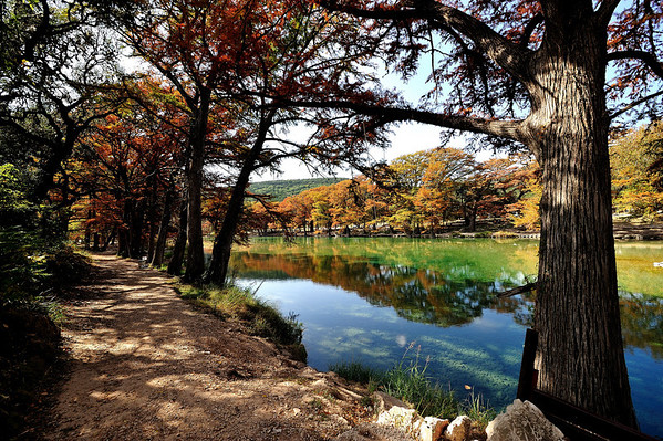 Leaf Peeping in Texas at Lost Maples State Park