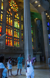 hundreds of new stain-glass windows pour color into the Cathedral