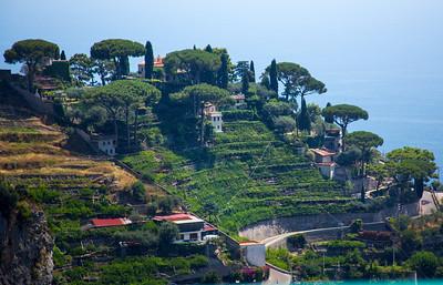 traveling the Amalfi coast
