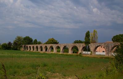 old Roman aquaduct
