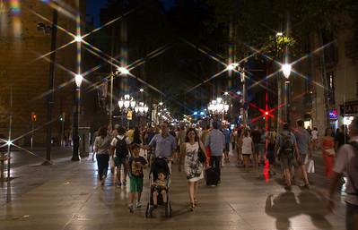 La Ramblas, Barcelona, Spain