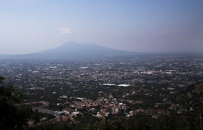 MT Vesuvius (sp) and Naples around the bottom